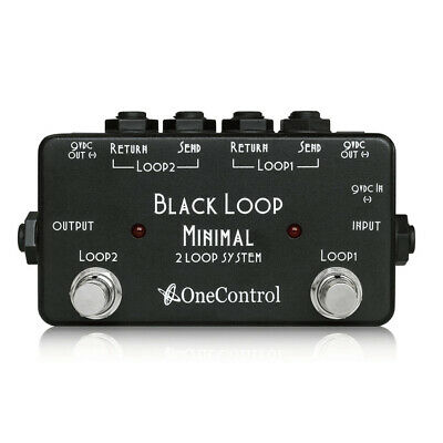 One Control Black Loop Looper Pedal Free Shipping New