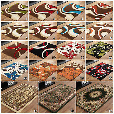 Extra Large Sale Clearance Geometric Floral Traditional Modern High Quality Rugs