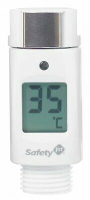 Safety 1st Shower Thermometer White Baby Infant Safety Bathing Accessory