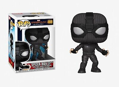 Funko Pop Spider-Man Far From Home: Spider-Man (Stealth Suit) Bobble-Head #39208