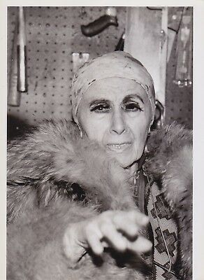 LOUISE NEVELSON by Suzanne Vlamis * VINTAGE CLASSIC 1984 SCULPTOR Iconic photo