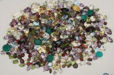 Gem mix semiprecious loose natural gems over 500 carats