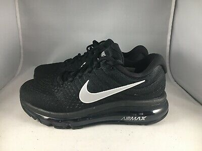 quality design 24255 2108c Nike Air Max 2017 Black Anthracite Womens Size 5 Running Shoes 849560 001