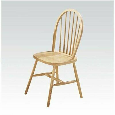 August Grove Osias Solid Wood Dining Chair Set of 4