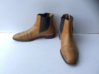 c5cb9db0ede BARKER MENS CHELSEA Boot Shoes Black Lace Up Leather Uk 9 - £15.00 ...