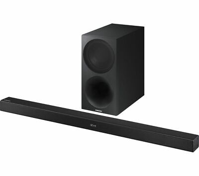 Samsung HW-M460 320W 2.1 Channel Wireless Soundbar and Subwoofer - (Black) B+