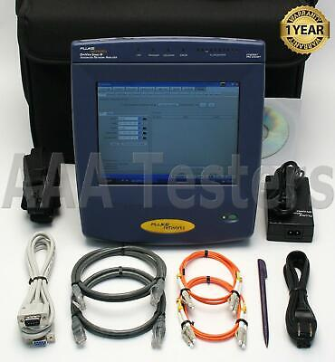 Fluke Networks Optiview Series 3 III Gigabit OPVS3-GIG Network Analyzer w/ Opt
