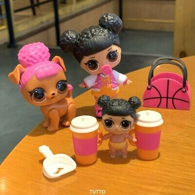 Lot Big sister & pet & Lil LOL Surprise LiL Sisters MVP hoops toy doll SDUS1
