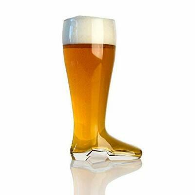 Domestic Corner Das Boot 2 Liter Extra-Large Beer Holds 5 Beers Glasses Cups