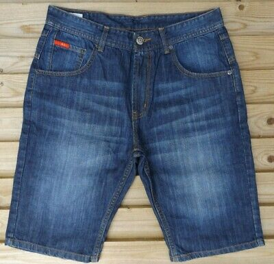 Men`s New LEE COOPER Denim Shorts in 10 Colour Options Authentic