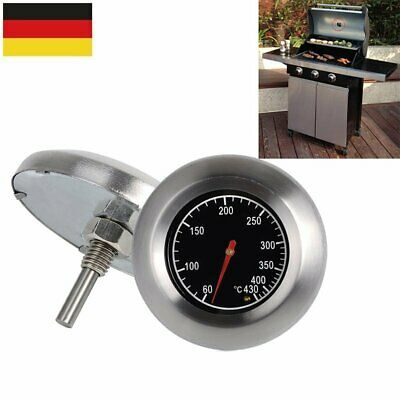 Thermometer Bratenthermometer Edelstahl BBQ Gasgrill Grillthermometer 60°C-430°C