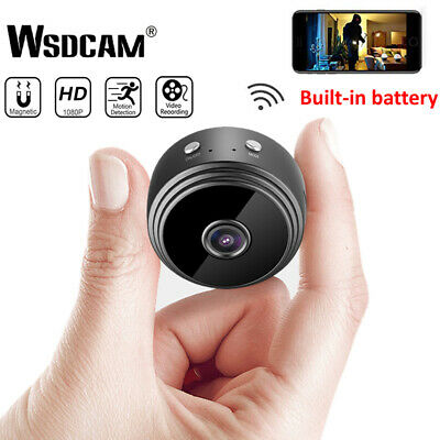 Mini 1080P HD Spy IP WIFI Camera Wireless Hidden Home Security Dvr Night Vision