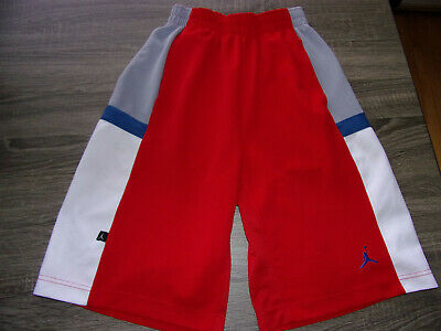 88cb97ff932 Nike Air Jordan #23 Brand Mens Athletic Red White Gray Basketball Workout  Shorts