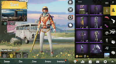 PUBG MOBILE LEGENDARY account for sale!!!