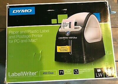 Business & Industrial Dymo Labelwriter Duo Thermal Label Printer With Labels Model 93105 2.c6