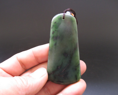 Chinese jade, collectibles, natural jade, Waist pendant, pendant Y5609