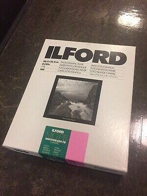 ilford photographic paper FB, 100 sheets, 8.5x11, Used (Less than 100 sheets)