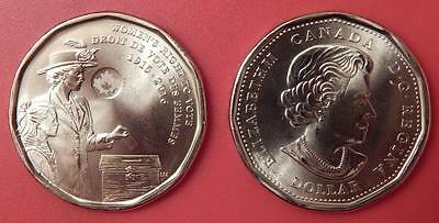 Brilliant Uncirculated 2016 Canada Women's Vote 1 Dollar From Mint's Roll