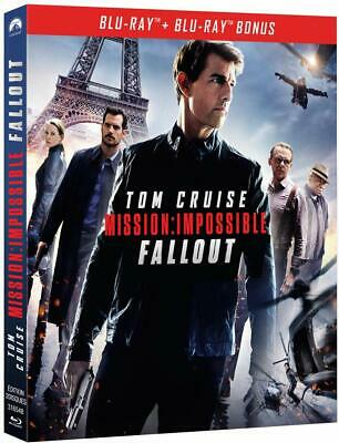 "COFFRET 2 BLU-RAY "" Mission : Impossible - Fallout bonus "" (NEUF)"