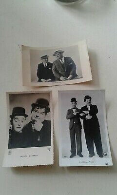 3 carte laurel et hardy