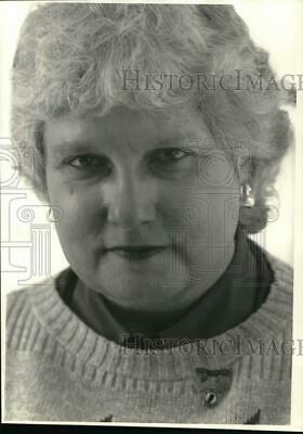 1988 Press Photo Nancy Churchill, Tet Offensive Civilian Vietnam Nurse