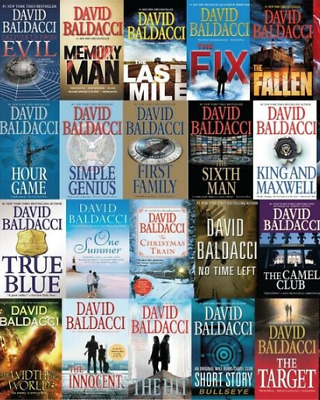 David Baldacci 14 AudioBooks collection (MP3) Audiobook📧⚡Email Delivery(10s)⚡📧