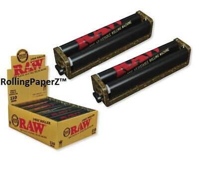 2 New RAW 110mm 2 Way Adjustable Cigarette Roller Rolling Machine Free Shipping