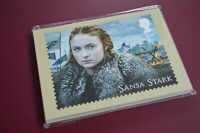 2018 Game Of Thrones Royal Mail Phq Stamp Post Cards Full Set 16 New In Slip