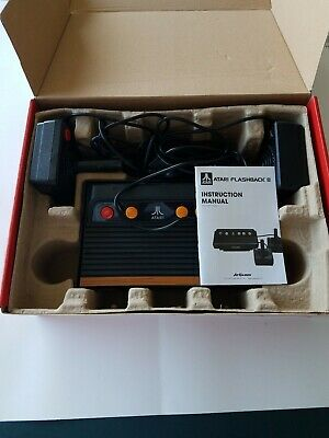 Atari Flashback 8 Deluxe Console Game Player 105 Classic Games Built-in AR3220