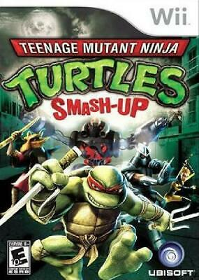 Teenage Mutant Ninja Turtles: Smash-Up Nintendo Wii Tested Wii, Video Games