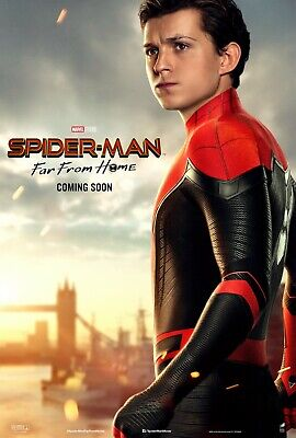 Spiderman Far From Home movie poster (g) - Tom Holland poster - 11 x 17 inches