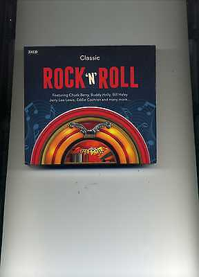 Classic Rock 'N' Roll - Bill Haley Chuck Berry Jerry Lee Lewis - 3 Cds - New!!
