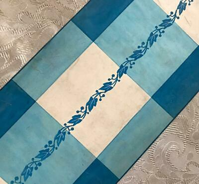 BEAUTIFUL 19th CENTURY ANTIQUE HAND PAINTED FRENCH SILK IVY DESIGN CARTOON 4.