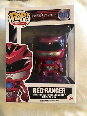 POWER Rangers-Black ranger Funko Pop 12342 Film