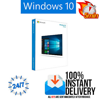 NEW Windows 10 Home 32/64 Key ESD Multilenguaje Original Licencia Key envio 1min