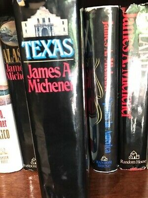 Texas, James A. Michener, First Edition