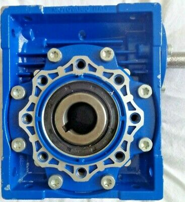 New Motovario Nrv 063  Worm Gear Reducer 80,00 Ratio