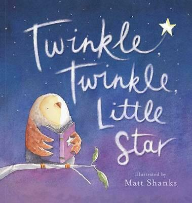 Twinkle Twinkle Little Star Hardcover Book Free Shipping!