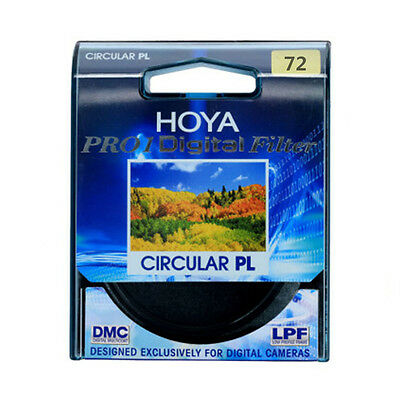 HOYA 72mm Pro1 CPL Digital CIRCULAR Polarizer Camera Lens Filter For SLR Camera