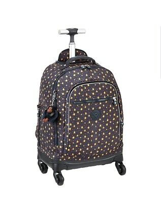 dba128151bd BNWT Kipling ECHO cool star boy spinner wheeled cabin school bag trolley  Rrp£194