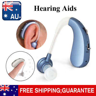 Rechargeable Invisible Digital Hearing Aid Severe Loss BTE Ear Aids HighPower BU