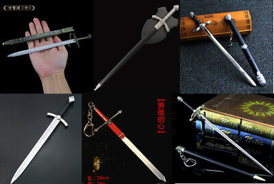 1:6 1/5 SWORD Knight Middle Ages Crusade Epee epic Movies katana metal longclaw