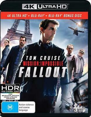 Mission Impossible - Fallout | Blu-ray + UHD - Blu Ray Region B Free Shipping!