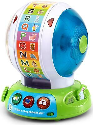 Spin & Sing Alphabet Zoo Ball - LeapFrog Free Shipping!