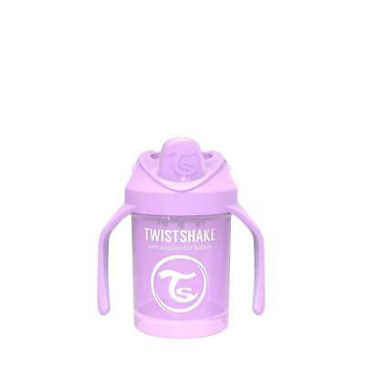 TwistShake Mini Cup Sippy Cup (Pastel Purple) Free Shipping!