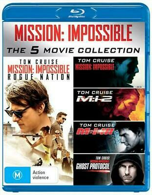 Mission Impossible | 5 Pack - Blu Ray Region B Free Shipping!