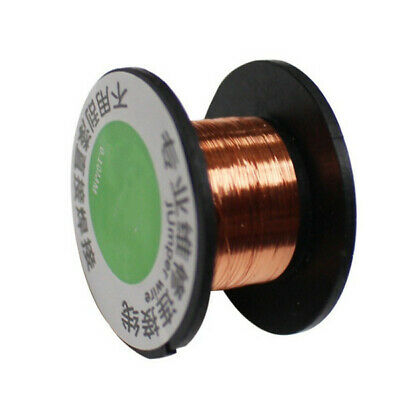 0.1mm Enameled Copper Wire Round Magnet Magnetic Wire Coil Winding welding 18m ~