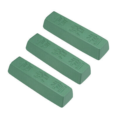 Polishing Compound Kits Green Buffing Sharpening for Metal 183x50x38mm 3 Pcs