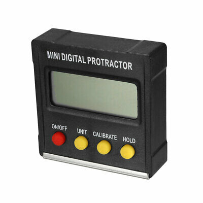 Digital Level Box Protractor Angle Finder 4x90° Inclinometer Bevel Gauge