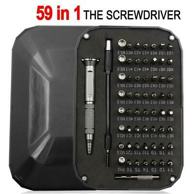 59-in-1 Professional Screwdriver Set Precision Full Electronic Repair Tool Kit